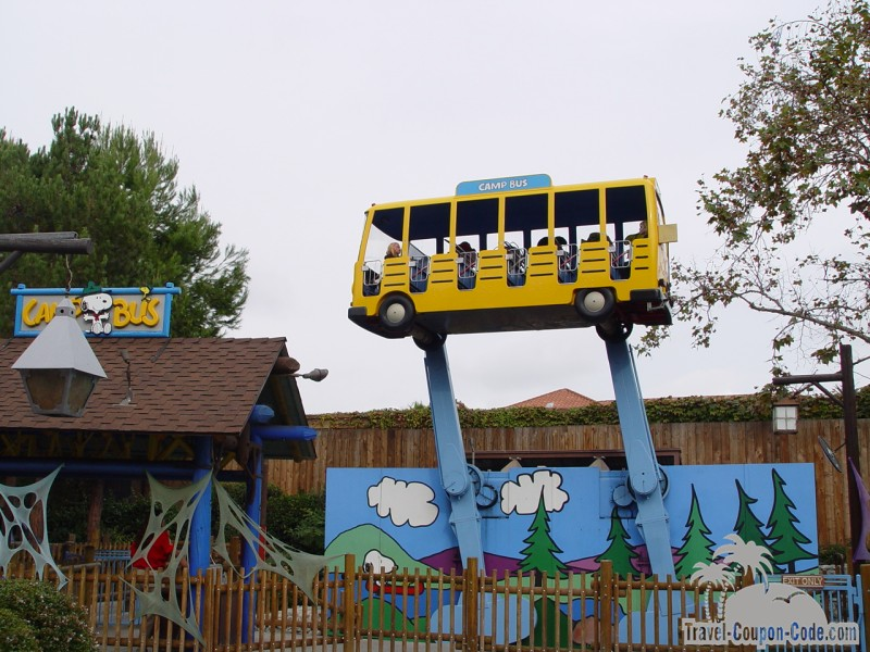 Southern California Knotts Berry Farm Attraction