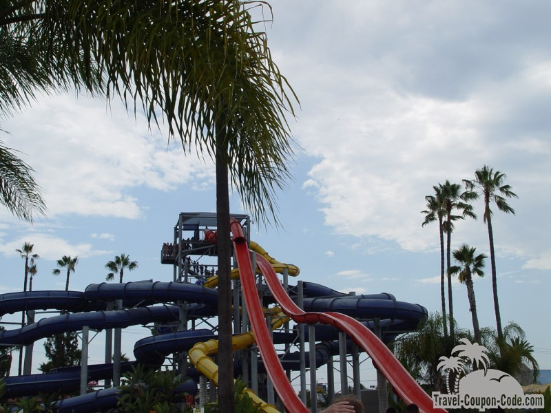 Southern California Knotts Soak City Water Park Attraction