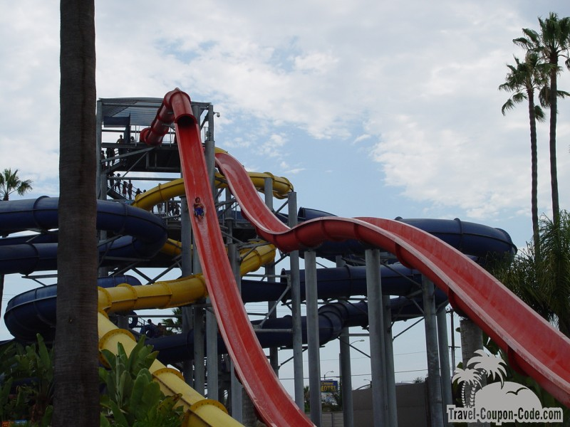 Southern California Knotts Soak City Water Park Attractions