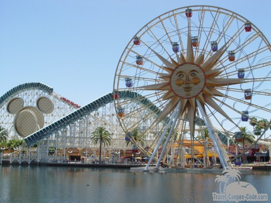 Disneyland Southern California Adventure Park Attractions
